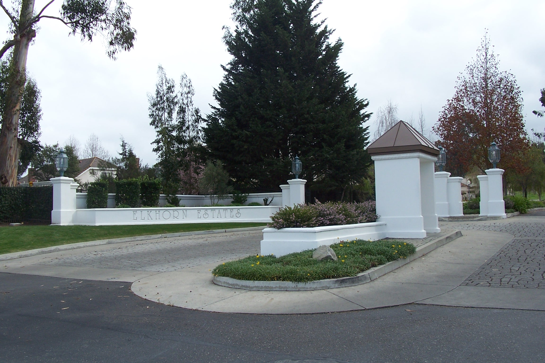 Entrance of Elkhorn Estates in Orcutt, CA