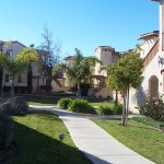 Walkway at Oak Creek Villas in Orcutt, CA