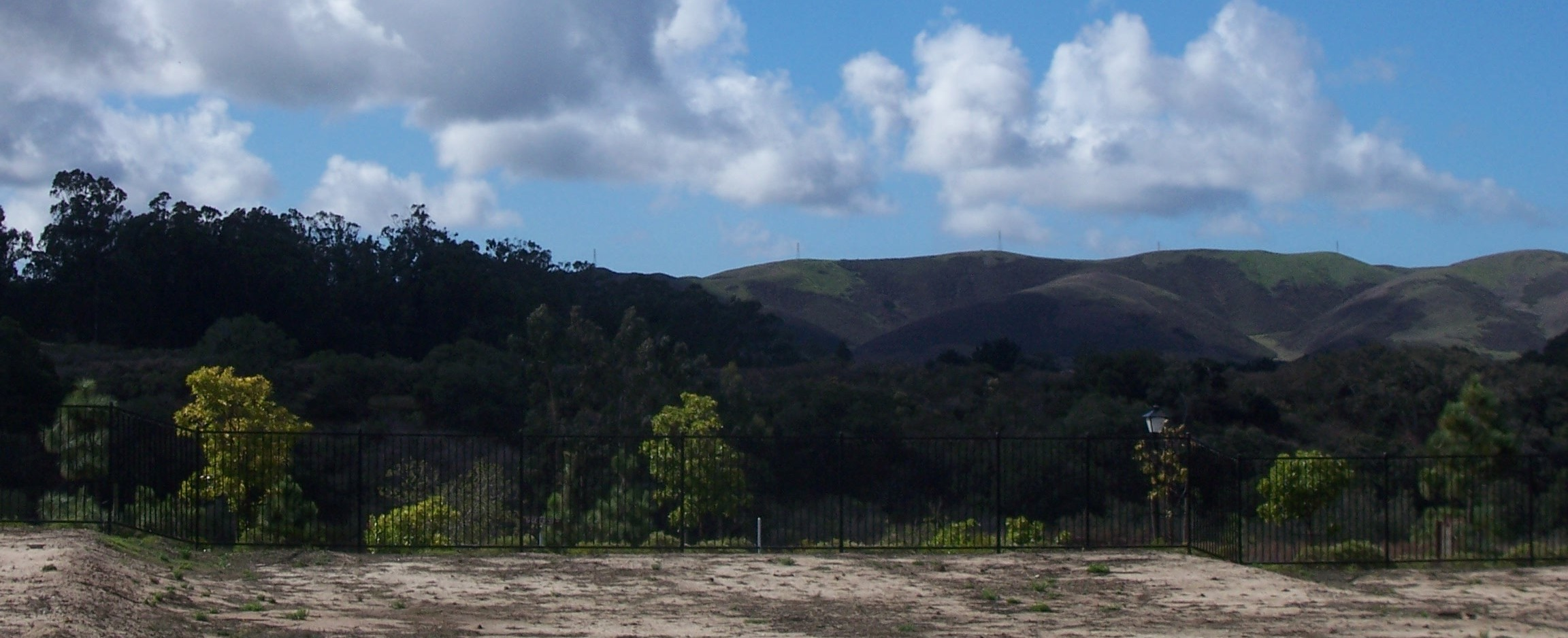 View Of Hills From Models At Rice Ranch In Orcutt
